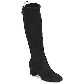 Schoenen Dames Hoge laarzen Tamaris PEDAS Zwart