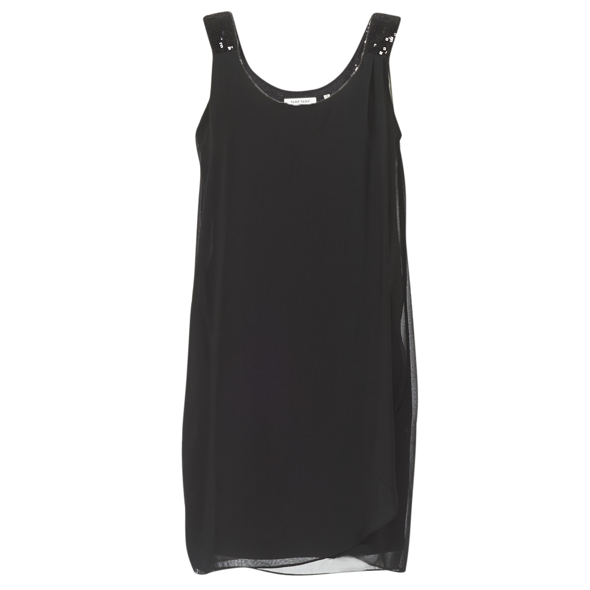 NAF NAF korte jurk kloe zwart