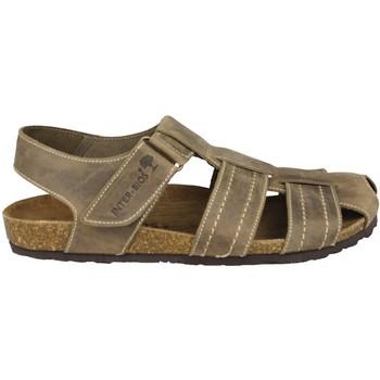 Schoenen Dames Sandalen / Open schoenen Interbios SANDALEN GESLOTEN 9533 PARDO