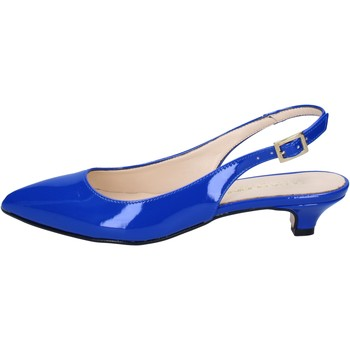 Schoenen Dames Sandalen / Open schoenen Olga Rubini sandali blu vernice BY278 Blu