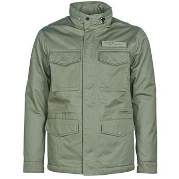 Textiel Heren Jasjes / Blazers Replay YAROUTE Kaki