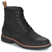 Schoenen Heren Laarzen Clarks BATCOMBE Zwart