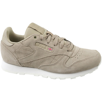 Schoenen Kinderen Sneakers Reebok Sport Cl Leather Mcc Beige