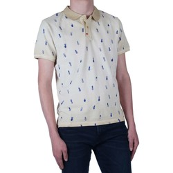 Textiel Heren T-shirts met lange mouwen Take A Way Polo all over printed Beige