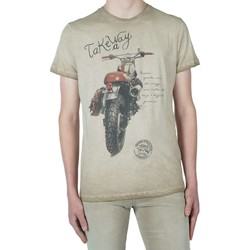 Textiel Heren T-shirts korte mouwen Take A Way T-shirt brown Bruin