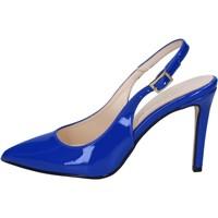 Schoenen Dames Sandalen / Open schoenen Olga Rubini sandali blu vernice BY285 Blu