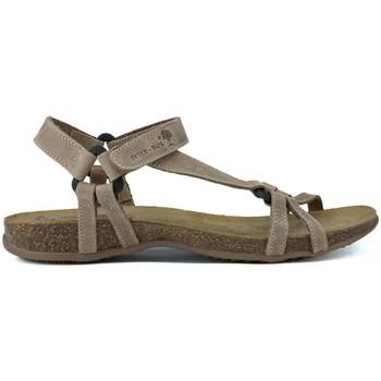 Schoenen Dames Sandalen / Open schoenen Interbios INTERMEDIAIRE SANDALEN TRIBERMUT 5412 BEIGE