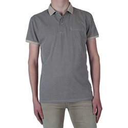 Textiel Heren Polo's korte mouwen Noize Polo  all over printed Beige