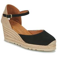 Schoenen Dames Sandalen / Open schoenen Unisa CACERES Zwart