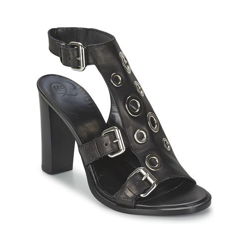 Schoenen Dames Sandalen / Open schoenen McQ Alexander McQueen NICO Zwart