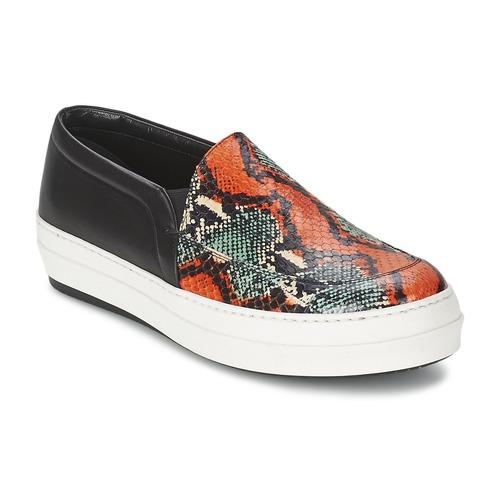 Schoenen Dames Instappers McQ Alexander McQueen DAZE Zwart / Multicolour