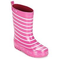 Schoenen Meisjes Regenlaarzen Be Only TIMOUSS Roze