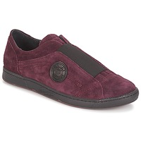 Schoenen Dames Instappers Pataugas Jelly Aubergine