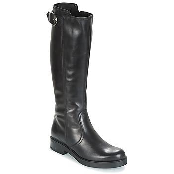 Schoenen Dames Hoge laarzen Samoa DOLCU Zwart