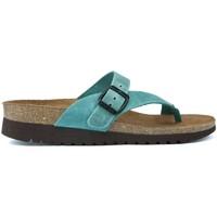 Schoenen Dames Sandalen / Open schoenen Interbios INTERIEUR SANDALEN ALYSA 7119C JEANS