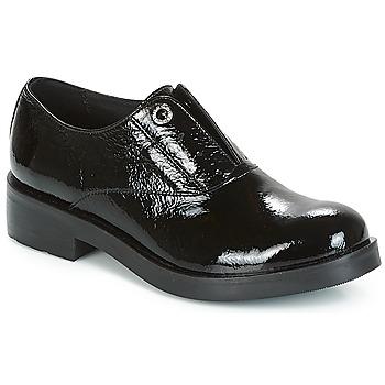 Schoenen Dames Derby Tosca Blu FRASER Zwart
