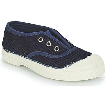 90b972ff8e2 Schoenen Kinderen Lage sneakers Bensimon TENNIS ELLY CORDUROY Marine