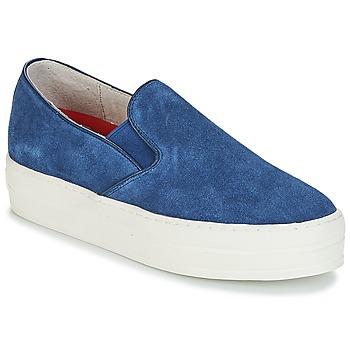 Schoenen Dames Instappers Skechers UPLIFT Blauw