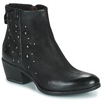 Schoenen Dames Laarzen Mjus DALLY STAR Zwart