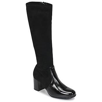 Schoenen Dames Hoge laarzen Unisa ORLANDO Zwart