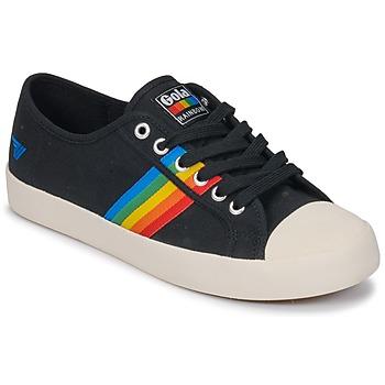 Schoenen Dames Lage sneakers Gola Coaster rainbow Zwart