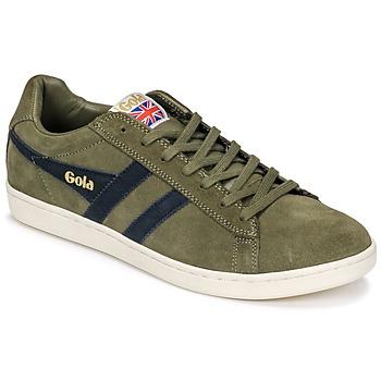 Schoenen Heren Lage sneakers Gola Equipe Suede Kaki / Marine