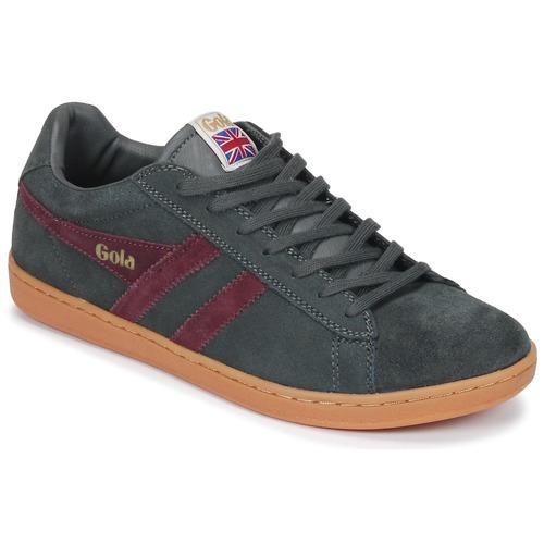 Schoenen Heren Lage sneakers Gola Equipe Suede Grijs / Bordeau