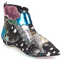 Schoenen Dames Laarzen Irregular Choice Electric boots Zwart / Zilver