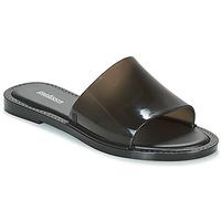 Schoenen Dames Leren slippers Melissa SOULD Zwart