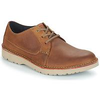 Schoenen Heren Derby Clarks VARGO PLAIN Bruin