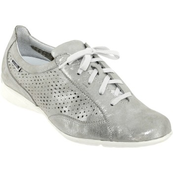 Schoenen Dames Lage sneakers Mephisto Val perf leer grijs