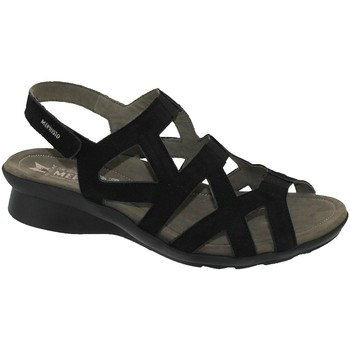 Schoenen Dames Sandalen / Open schoenen Mephisto Pamela Nubuck zwart
