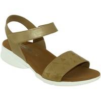 Schoenen Dames Sandalen / Open schoenen Mephisto Fabie Goudkleurig leer