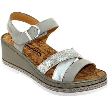 Schoenen Dames Sandalen / Open schoenen Mobils By Mephisto Benita leer grijs