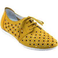 Schoenen Dames Derby Sabrinas Bruselas 85006 Nubuck geel