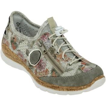 Schoenen Dames Lage sneakers Rieker N42v1 Meerkleurig grijs