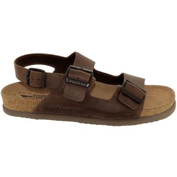 Schoenen Heren Sandalen / Open schoenen Mephisto Nardo Bruin leer