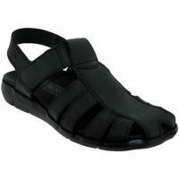 Schoenen Heren Sandalen / Open schoenen Mephisto Cesar Zwart leer