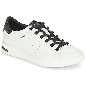Schoenen Dames Lage sneakers Geox JAYSEN Wit / Zilver