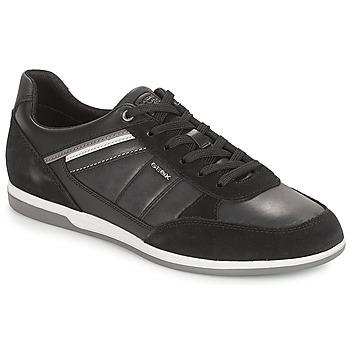 Schoenen Heren Lage sneakers Geox U RENAN Zwart
