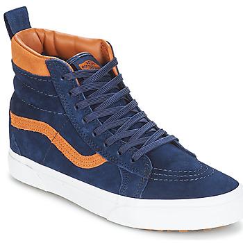 Schoenen Hoge sneakers Vans Sk8-hi (mte) / Suede / Blauw