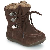 Schoenen Kinderen Hoge laarzen Kickers BAMARA Bruin