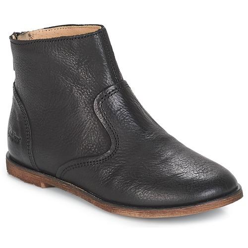 Schoenen Meisjes Hoge laarzen Kickers ROXANNA Zwart