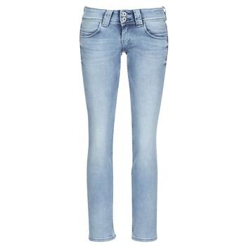 Textiel Dames Straight jeans Pepe jeans VENUS Blauw / Clair