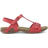 Schoenen Dames Sandalen / Open schoenen Interbios SANDALEN AFRODITE 4462 ROJO