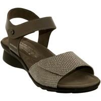 Schoenen Dames Sandalen / Open schoenen Mephisto Pattie Taupe leer