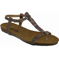 Schoenen Dames Sandalen / Open schoenen Plakton Mam zouk Satijn roze