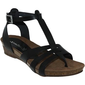 Schoenen Dames Sandalen / Open schoenen Xapatan 5134 Zwart leer
