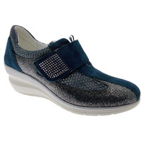 Schoenen Dames Instappers Riposella RIP76221bl blu