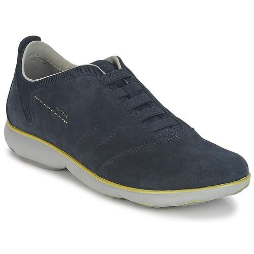 Schoenen Heren Lage sneakers Geox NEBULA B Marine